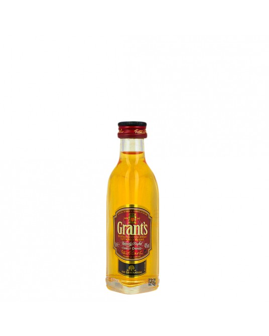 WHISKY GRANTS FAMILY RESERVE RED BOTELLITA 50 ml