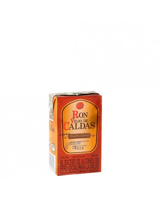 RON VIEJO DE CALDAS 3 AÑOS CUARTO TPACK 250 ml