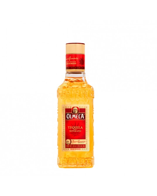 TEQUILA OLMECA REPOSADO MEDIA 350 ml