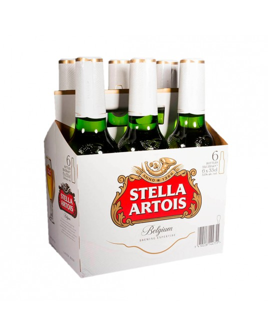 CERVEZA STELLA ARTOIS SIX PACK 6x330ml