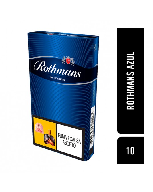 ROTHMANS AZUL X 10 UNIDADES