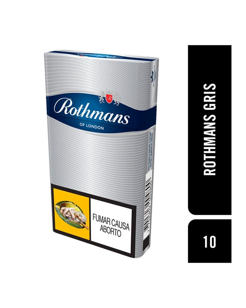 ROTHMANS GRIS X 10 UNIDADES