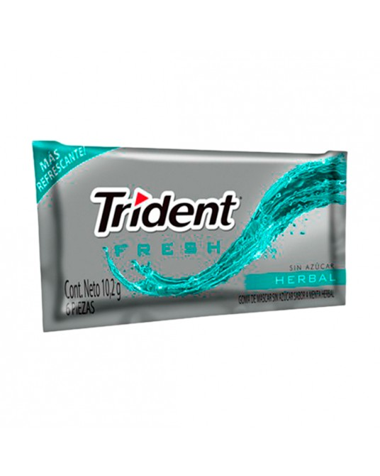 CHICLES TRIDENT SURTIDO PAQUETE 10 g