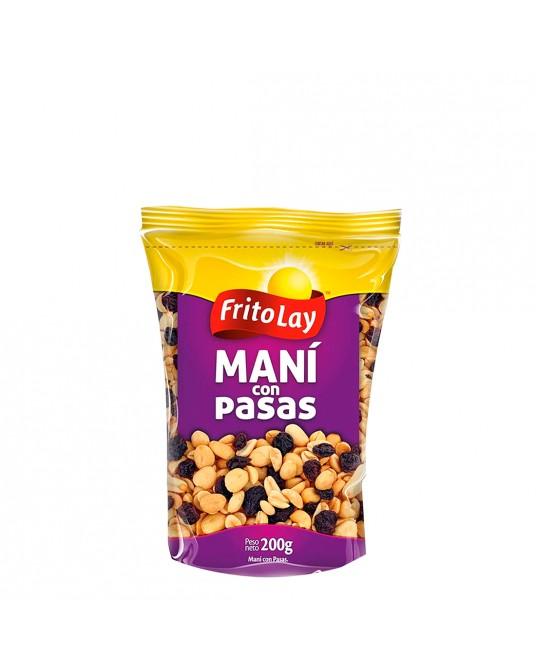 MANI FRITOLAY CON PASAS BOLSA 200 g