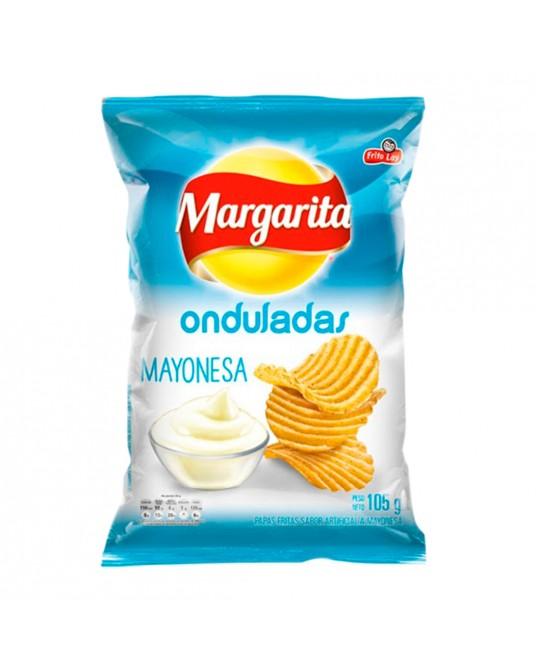MARGARITA ONDULADAS MAYONESA PAQUETE FAMILIAR 105g