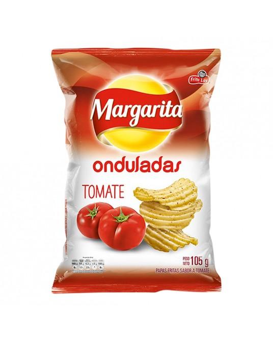 MARGARITA ONDULADAS TOMATE PAQUETE FAMILIAR 105g