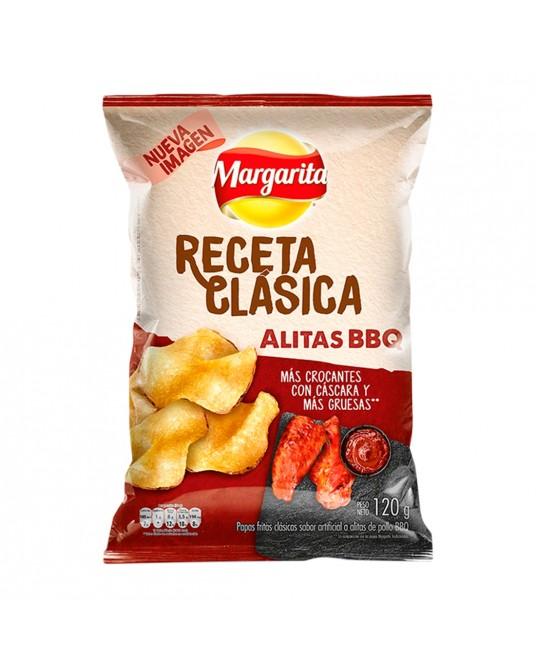 MARGARITA RECETA CLASICA POLLO BBQ PAQUETE FAMILIAR 120g