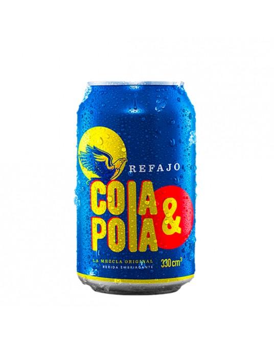 GASEOSA REFAJO COLA Y POLA LATA 330 ml