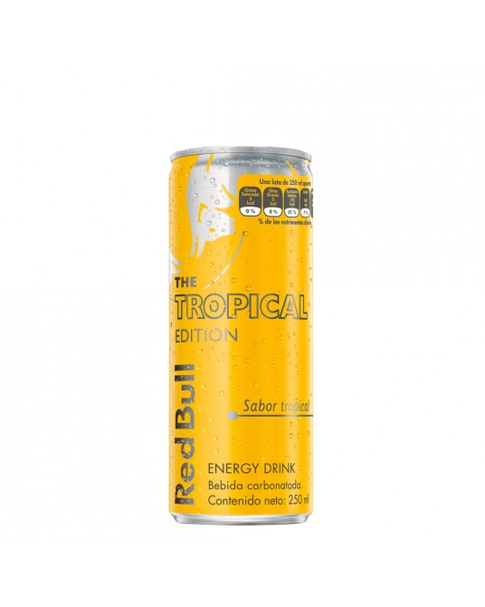 ENERGIZANTE RED BULL TROPICAL 250 ml