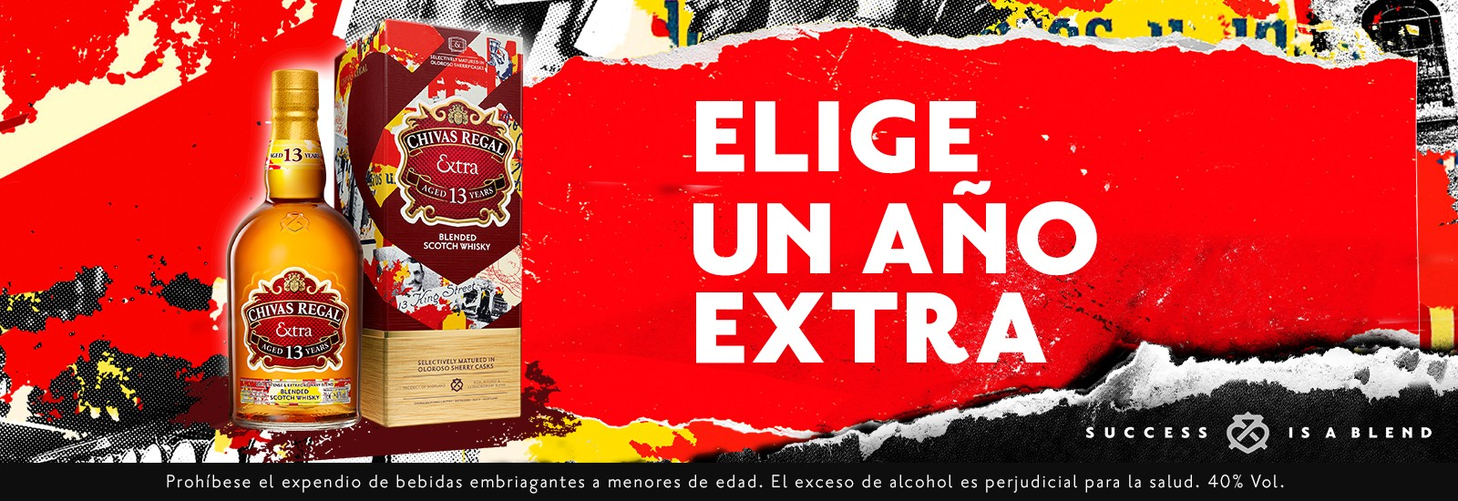 Whisky Chivas Extra 13 700 ml