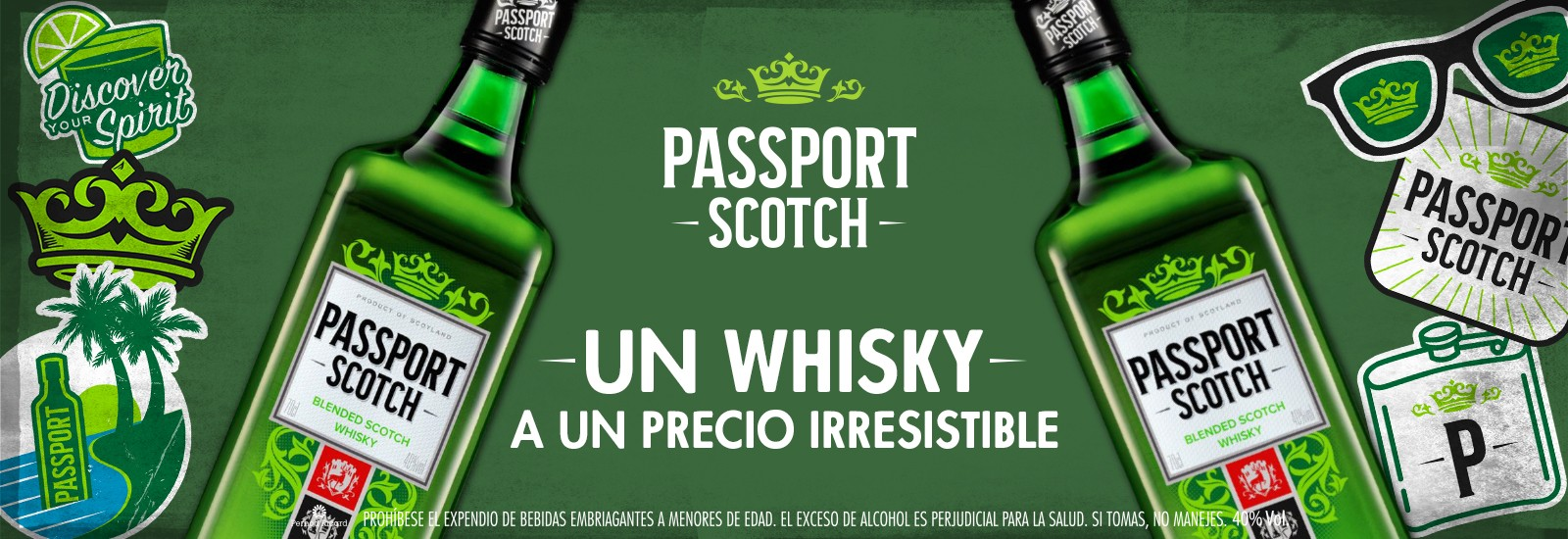 WHISKY PASSPORT 700 ml