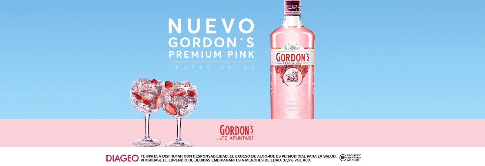GINEBRA GORDONS PREMIUM PINK 700 ML